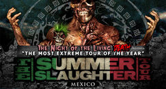 The Summer Slaughter Tour Mexico