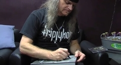 Tom G. Warrior - Gana su libro autografiado con S&D