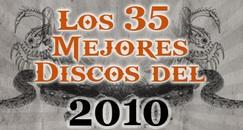 Los 35 Mejores Discos del 2010