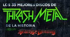 Los 35 Mejores Discos de Thrash Metal de la Historia
